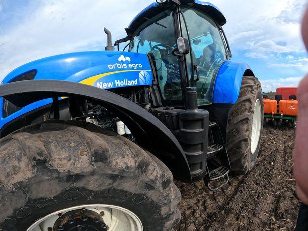 Трактор NewHolland T7060, New Holland 2012 готов в поле