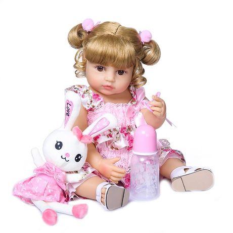 Кукла Реборн силиконовая reborn куклы для девочек большие можно купать