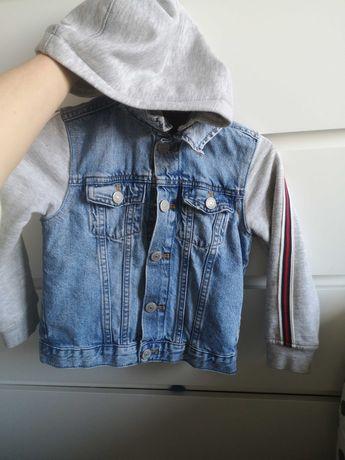 Kurtka jeansowa chłopiec 110-116 jak nowa!!!