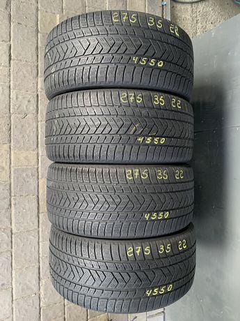 Шини резина 275/35r22 Pirelli 6mm 4шт. Зима зимние