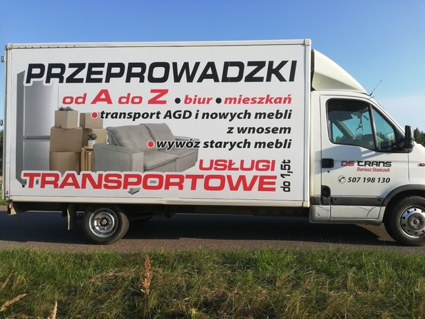 Wynajem, Przeprowadzki, Tani Transport
