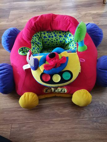 Samochodzik miękki fotelik auto dla malucha ks Kids