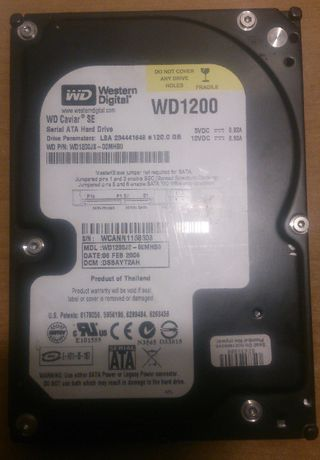 Dysk HDD do PC 120GB sata