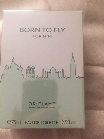 Born to fly for him 75 ml Oriflame męski zapach dla ojca wujka kuzyna