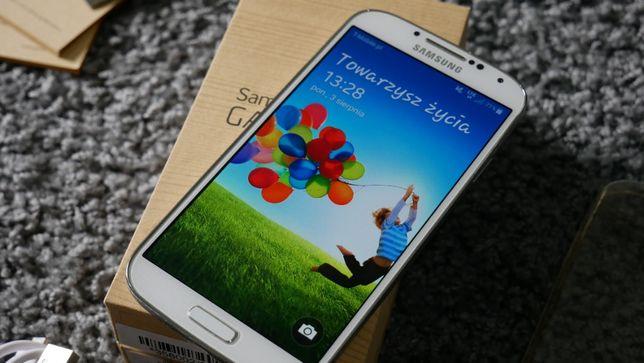 Samsung Galaxy S4 GT-I9506 Biały Komplet Idealny stan Etui