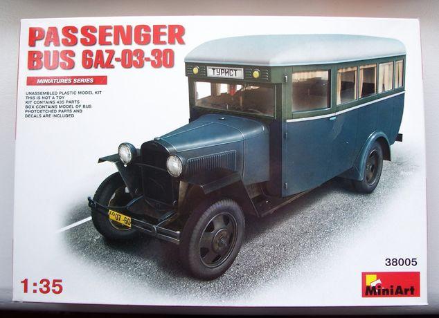 MiniArt 38005 Пассажирский автобус ГАЗ-03-30, 1:35 сборная модель