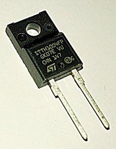 STTH1004FP díodo rectificador 10A 400v TO220