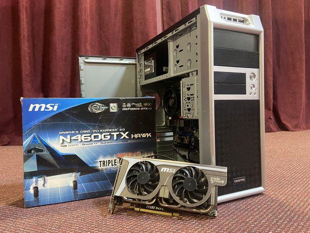 Игровой Компьютер. 4 Ядра 3.4Ghz, 8GB DDRIII, NVIDIA GTX460, HDD 750GB