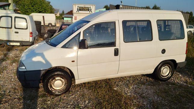 Fiat Scudo Jumpy 1.9d 9osobowy bez rdzy uszk silnik Lubelskie