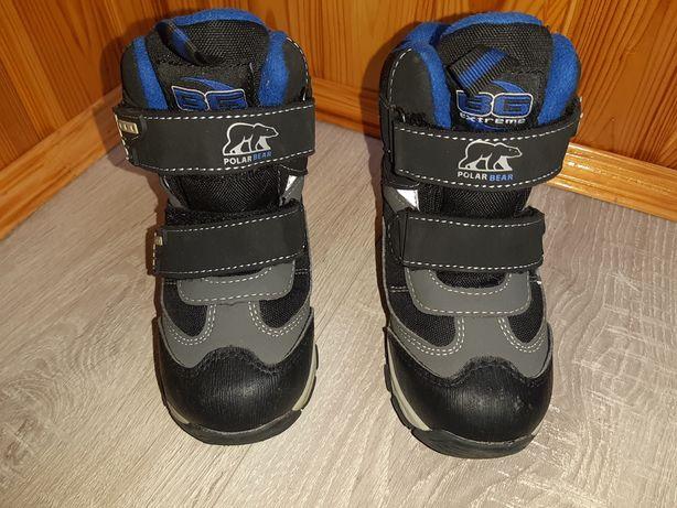 Детские зимние термо ботинки на мальчика фирмы BG TERMO