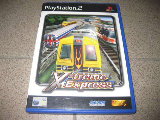 """X-Treme Express: World Grand Prix"" PS2/Completo/Raro"