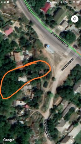 В городе Частный дом, ТОРГ.приватизирована земля .308 кв.м.