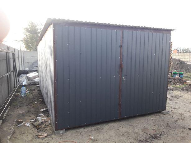 Garaż blaszany 3x5 Grafit, garaze blaszane Producent