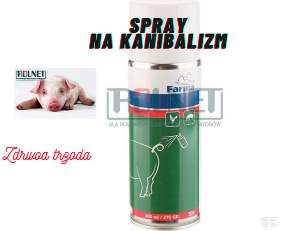 Spray na kanibalizm u świń 400ml Zapobiega gryzieniu