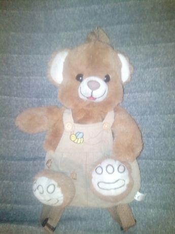 Мягкий детский портфель в виде игрушки