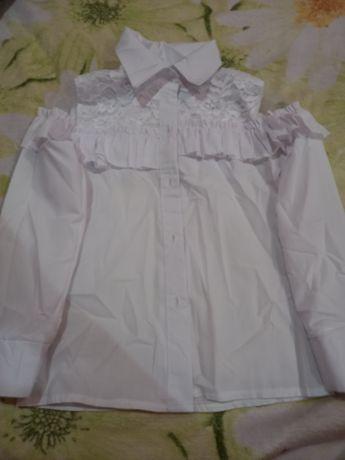 Школьная блузка для девочки
