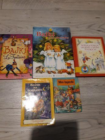 zestaw ksiazek i wierszy dla dzieci 5 sztuk