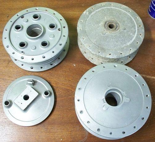Szkiełkowanie aluminium części motocyklowych samoch. serwis motocykli