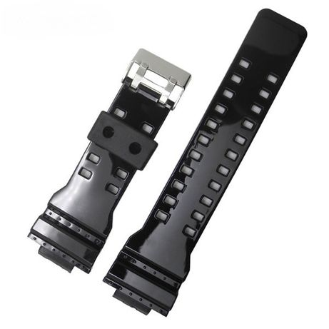 Ремешок глянцевый Casio G-Shock GA-100, GA-110, GA-120, GA-300, GAC-10