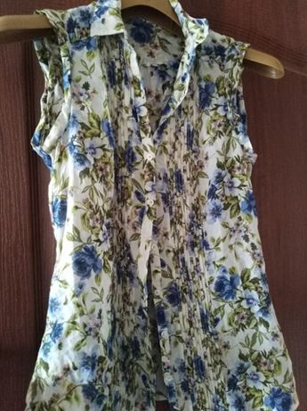 Классная блузка Massimo dutti