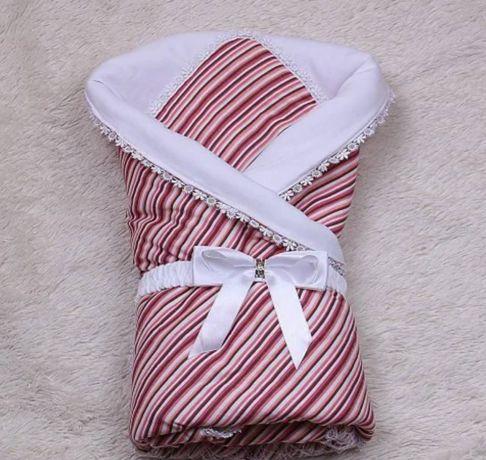 Продам летний конверт одеяло на выписку