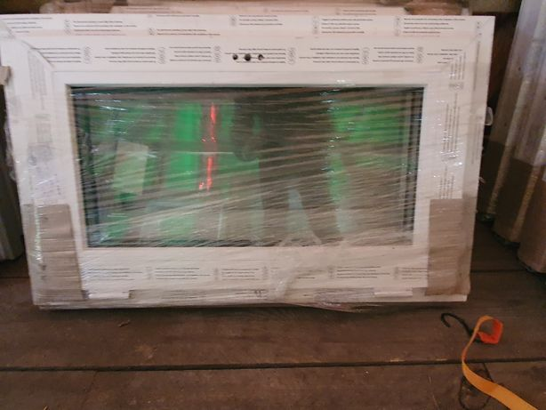 Okno uchylne 865x535 białe