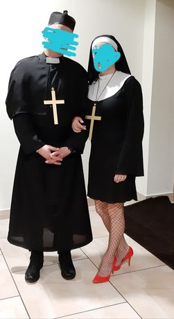 Kostium księdza i zakonnicy
