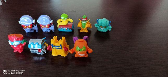 Sprzedam lub wymienię figurki super zings seria 3