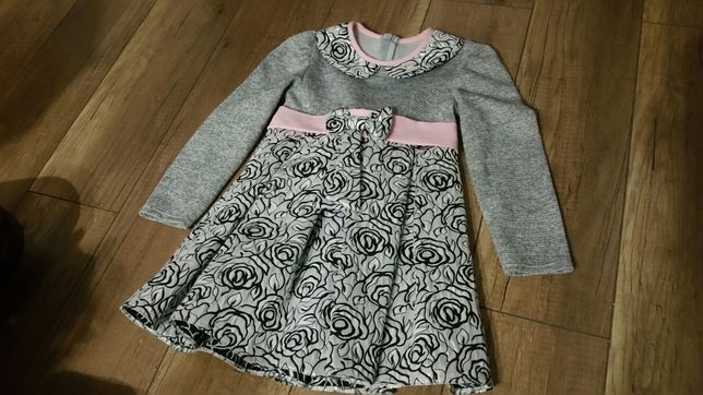 Sukienka dla dziewczynki rozm. 122