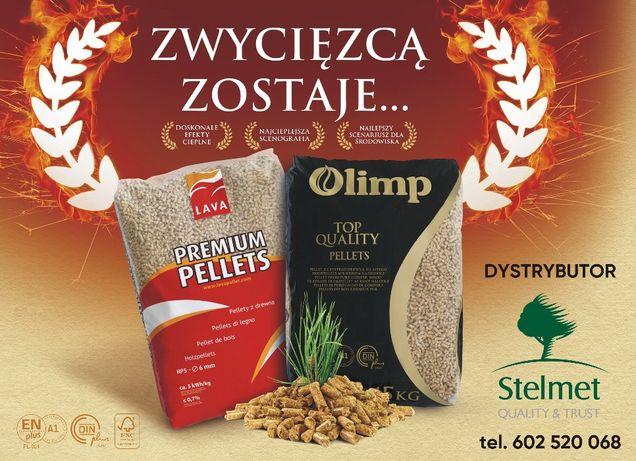 pellet Lava i Olimp firmy stelmet Zielona Góra - dystrybutor
