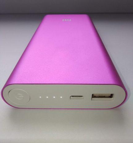 Power Bank, портативная батарея Xiaomi 20800 mAh розовый цвет