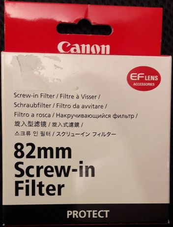 Filtro Canon protect 82mm