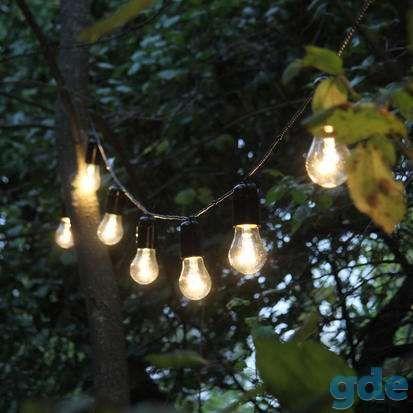 НаПрокат изготовим ретро гирлянды 10 метров накаливания лампы