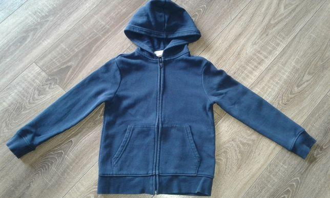 Granatowa bluza h&m 122/128