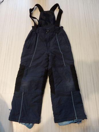 Spodnie narciarskie ocieplane 128