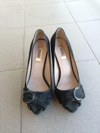 Buty Zara czarne 37