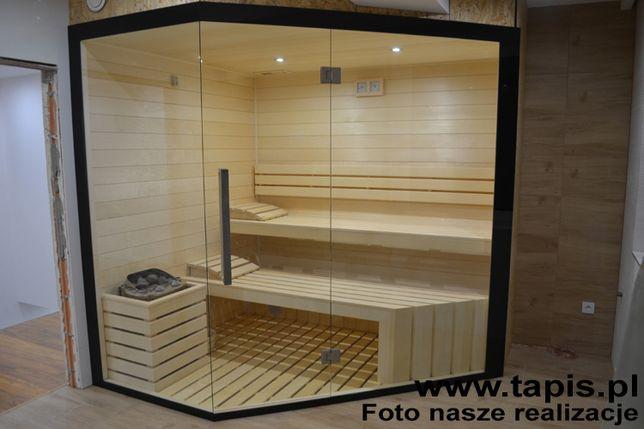 Sauna boazeria panel osika biała 15x120x3000