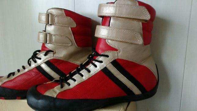 Ботинки кожаные Ecco.