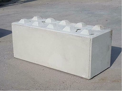 Blok Betonowy, Mur Oporowy, Silos. Betonové kostky