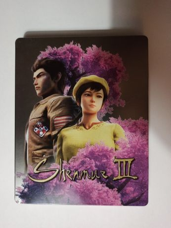 Shenmue III PS4 PlayStation 4 Steelbook
