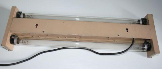 Бактерицидный кварцевый светильник на 2 лампы ДБ15 обеззараживатель ла