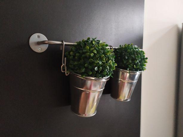 Drążek z doniczkami Ikea