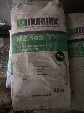 Zaprawa murarska do klinkieru czarna Murmix