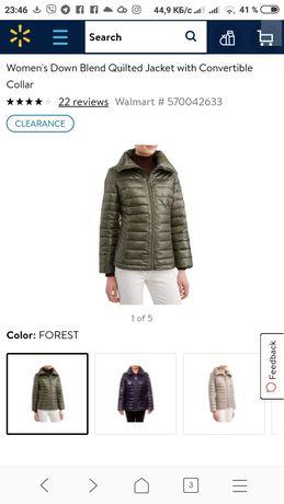 Женская куртка пуховик Big Chil