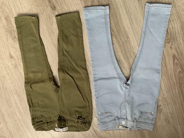Spodnie Zara Hm jeansowe 92