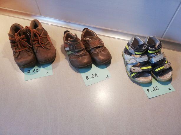 Buty chłopięce - różne rozmiary