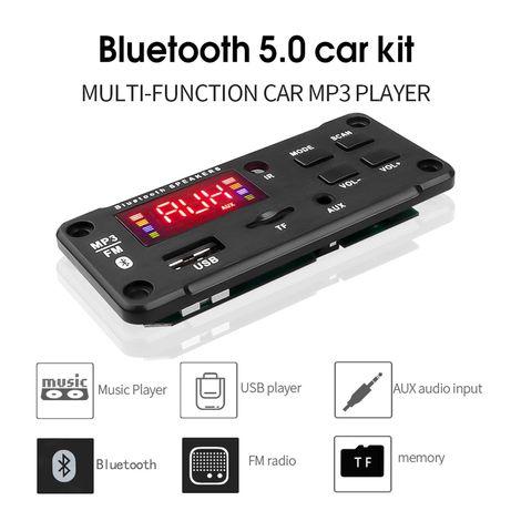 Декодер USB, MicroSD, FM, AUX, Bluetooth