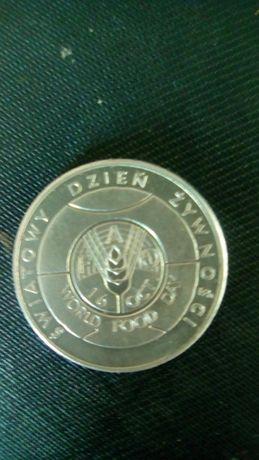 Moneta 50 zł światowy dzień żywności