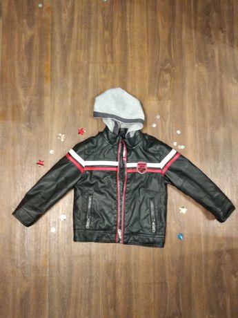 Мото куртка детская