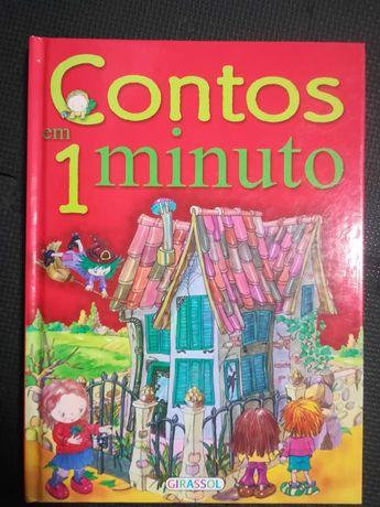 Livro Infantil Contos em 1 minuto